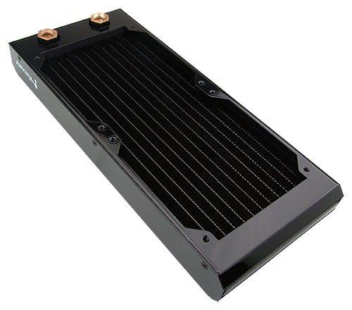 Radiator, 2x120mm 20-FPI Copper [no nozzles]