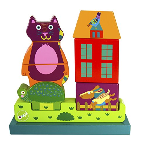 Oops My Magnetic Puzzle with Jerry - Encourages Imaginative and Mental Development - Safe and Easy Clean - 9-Piece - Ages 3 and Up