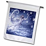 Susan Brown Designs Angels or Fairy Themes - Cure for Insomnia - 12 x 18 inch Garden Flag (fl_110887_1)
