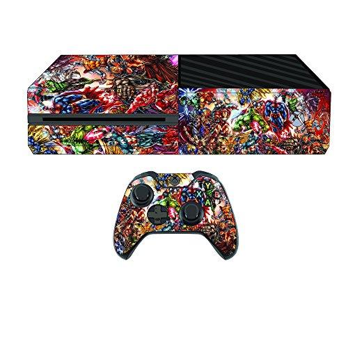 Amazing-superheroes-Premium-Designer-Skin-for-Xbox-One-2-Free-Controller-Skins