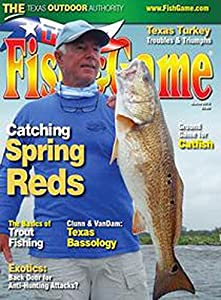 Texas fish and game magazines for Texas fish and game