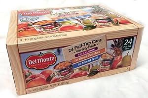Del Monte Lite Fruit Cups Variety - 24/4 oz.