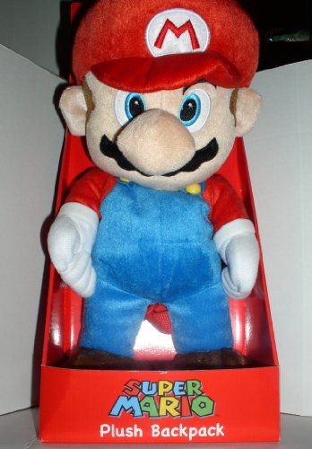 SUPER MARIO PLUSH BACKPACK - 1
