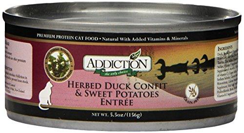 Addiction Herbed Duck Confit & Sweet Potatoes Entrée