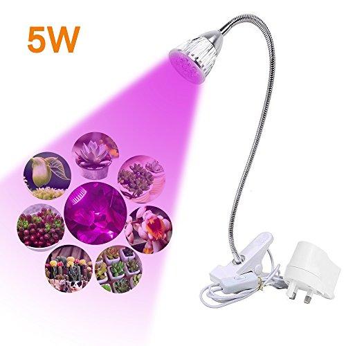 length-62-led-grow-light-5w-full-spectrum-led-clip-on-desktop-grow-lamp-clamp-flexible-gooseneck-for