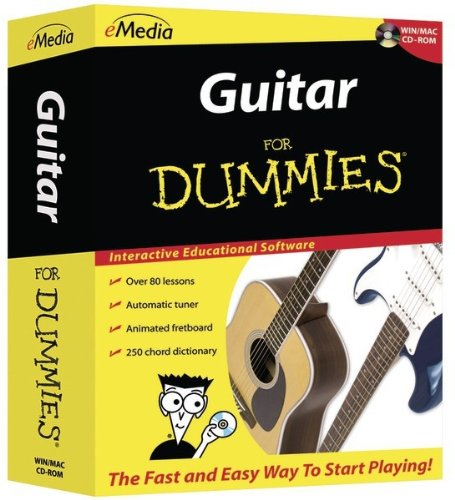 For Dummies - Guitar For Dummies *** Product Description: For Dummies - Guitar For Dummies Interactive Educational Software Over 80 Step-By-Step Video-Enhanced Lessons Over 50 Songs With Recorded Audio & Variable-Speed Midi Tracks Over 40 High-Qu ***