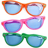 Jumbo Sunglasses (Assorted Colors)