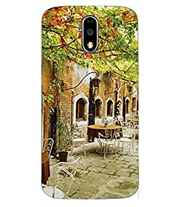 Doyen Creations Designer Printed High Quality Premium case Back Cover For Moto E3 Power / Moto E 3rd Generations / Moto E3 2016