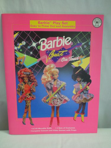 Barbie And The Beat On Tour [ Barbie Play Set: Easy To Press Out And Assemble ]