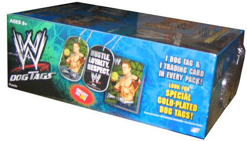 WWE Wrestling Topps Tags Wrestler Dog Tag Booster Box [20 Packs] - Buy WWE Wrestling Topps Tags Wrestler Dog Tag Booster Box [20 Packs] - Purchase WWE Wrestling Topps Tags Wrestler Dog Tag Booster Box [20 Packs] (Topps, Toys & Games,Categories,Games,Card Games,Collectible Trading Card Games)