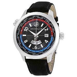 Brooklyn Casual Cadman Swiss Quartz GMT Mens Watch