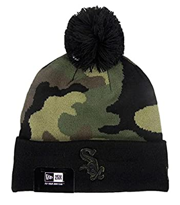 New Era Chicago White Sox Beanie woodcamo hat one size