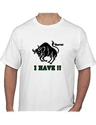 Tshirt India Men's Round Neck Cotton T-Shirt - B00O8MORVO