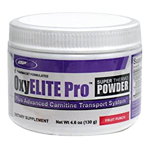 Oxyelite Pro Super Thermo Fruit Punch from USP LABS