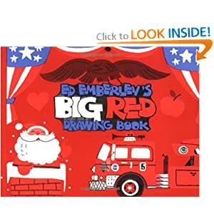 Ed Emberley's Big Red Drawing Book Edward R. Emberley