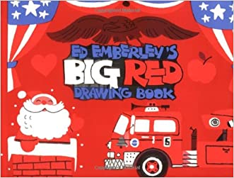 Ed Emberley's Big Red Drawing Book written by Edward R Emberley