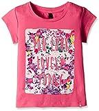 #5: United Colors of Benetton Baby Girls' T-Shirt (16A3094C163EIK271Y_Dark Pink_1Y)
