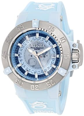 Invicta Women's 10108 Subaqua Noma III Light Blue Dial Watch