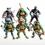"""6PCS Lot 5"""" Teenage Mutant Ninja Turt..."""