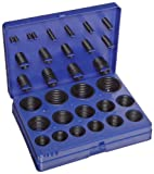 Buna-N O-Ring Kit, 70A Durometer, 382 Pieces, 30 Sizes