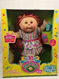 Cabbage Patch Kids Celebration 30th Anniversary Girl Doll Red Streaked Hair Brown Eyes