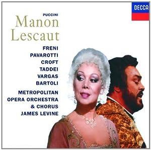 Puccini: Manon Lescaut (Gesamtaufnahme) (ital.)