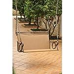Wicker Resin/Steel Patio Porch Swing