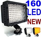 NEEWER 160 LED CN-160 Dimmable Ultra High Power Panel Digital Camera / Camc ....