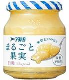 アヲハタ まるごと果実 白桃 250g×4個