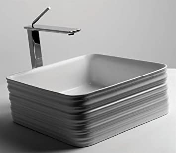 Trace Vessel Bathroom Sink