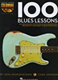 img - for 100 Blues Lessons: Guitar Lesson Goldmine Series book / textbook / text book