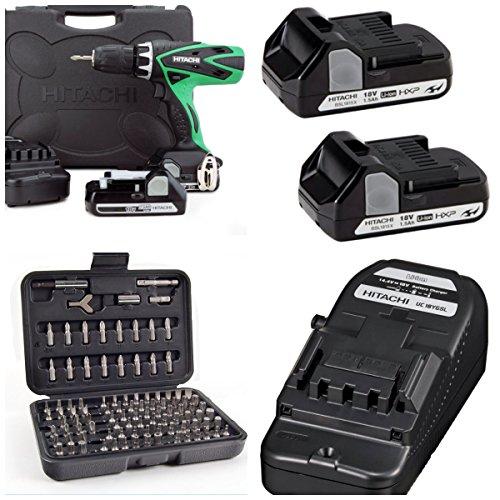 hitachi-dv18dsfl-18v-cordless-combi-drill-2-batteries-charger-carry-case