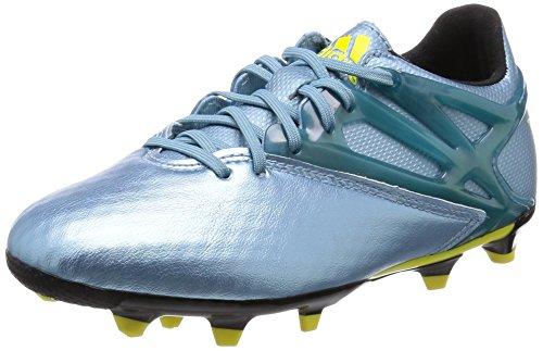 [アディダス] adidas サッカーシューズ メッシ 10.1 FG/AG/HG J S81489 S81489 (マットアイスメット F12/ブライトイエロー/コアブラック/22.0)