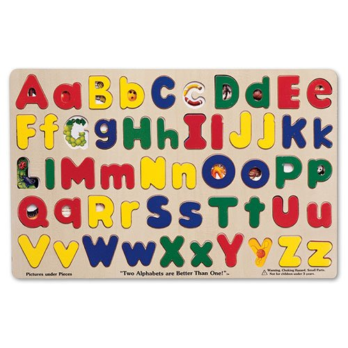 Cheap Constructive Playthings Upper & Lower Alphabet Floor Puzzle (B00295CMT6)