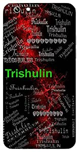 Trishulin (Lord Shiva) Name & Sign Printed All over customize & Personalized!! Protective back cover for your Smart Phone : Samsung Galaxy S4mini / i9190
