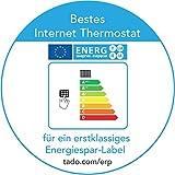 tadoSmartes Thermostat Starter Kit – standortbasierte, intelligente Heizungssteuerung über das Internet - 2