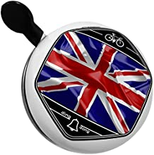 Bicycle Bell Britain 3D Flag by NEONBLOND