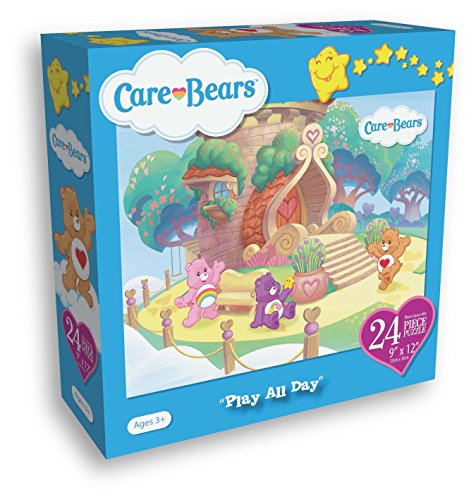 Care Bears 24 Piece Puzzle Measures 9x12 Inches Play All Day
