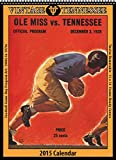 Tennessee Volunteers 2015 Vintage Football Calendar