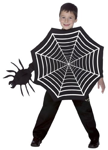 Child Spider Web Costume - Child Medium