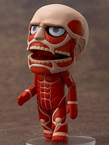 "Cute Anime 4"" Nendoroid Attack on Titan Shingeki no Kyojin Hoover PVC Action Figure Model Doll Brinquedos Toy Gift"