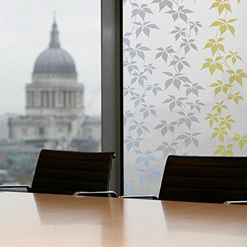 GreenForest bunte statische Window Folie f¨¹r Home & Office Fenster Aufkleber 45*200cm/17.7*78.7inches günstig kaufen