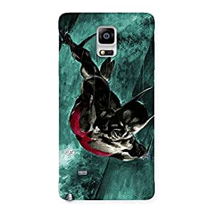 Ajay Enterprises Elite Future Knighter Back Case Cover for Galaxy Note 4