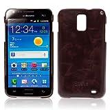 Zenus Galaxy S2 LTE (SC-03D)ケース Masstige Bar ブラックチョコ Z468iGS2L