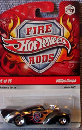 Hot Wheels Fire Rods Willys Coupe #6 of 26