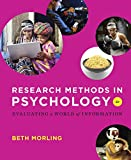 Research Methods in Psychology: Evaluating a World of Information (Second Edition)