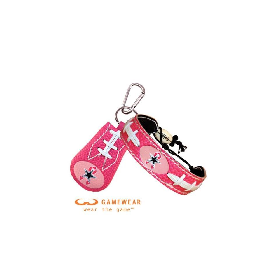 d67c94398705a Dallas Cowboys Breast Cancer Awareness Ribbon Pink NFL Football Bracelet  and Dallas Cowboys Breast Cancer Awareness