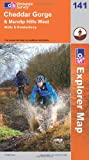 Ordnance Survey Cheddar Gorge and Mendip Hills West (OS Explorer Map)