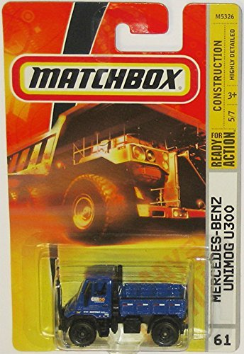 benz-unimog-u300-matchbox-2007-construction-series-blue-multi-purpose-four-wheel-drive-medium-trucks
