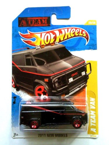 2011 Hot Wheels A Team Van Black #39/244 - 1